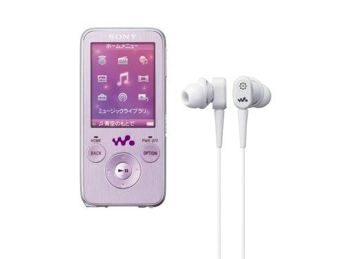 SONY ウォークマン Sシリーズ FM付 NC機能搭載<メモリータイプ> 16GB ピンク NW-S739F/PI