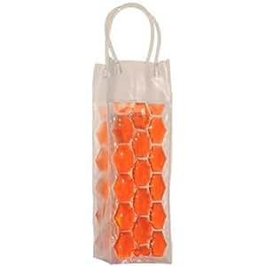 Sac Rafraichisseur de bouteille de vin - Orange