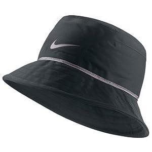 Nike Golf 2013 Storm-FIT Chapeau de pluie bob Noir/Gris foncé noir Noir/charbon Medium/Large