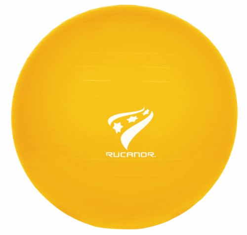 Rucanor - Pelota de fitness (45 cm), color amarillo