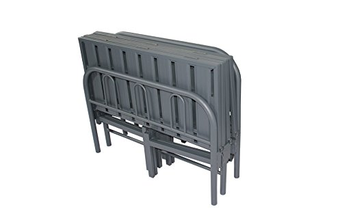 Inspirational TEXAS METAL CONTRACT FOLDING OR GUEST SINGLE FT BED FRAME PLUS ORTHOPAEDIC MATTRESSS