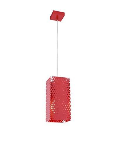 Light&Design Lámpara De Suspensión Aras Rojo