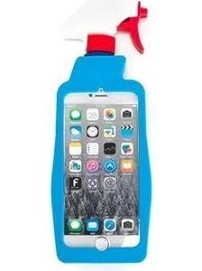【moschino】iPhone6s/6 洗剤スプレー型 ファンキーシリコンケース