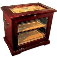 Cheap End Table Humidor – Hold up to 500 cigars. (21.25 w x 13.75 d x 19 h) (B003FR61UI)