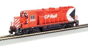 Bachmann EMD GP35 CP RAIL 5003 Red Locomotive HO Scale, DCC On-Board