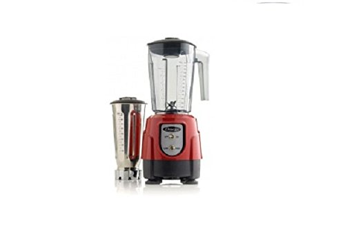 Omega 390 1Hp Blender With On/Off High/Low Bl390Red front-567328