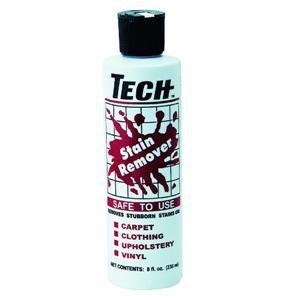Tech Enterprises, Inc. 8Oz Tech Stain Remover 30008-12S Professional Carpet & Rug Cleaners