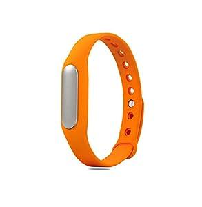 Botetrade Orange MiBand Smartband Fitness Tracker Sports Waterproof Bracelet+1pc Strap