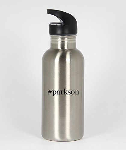 parkson-funny-hashtag-20oz-silver-water-bottle