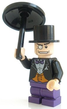 The Penguin with Umbrella - LEGO Batman Minifigure at Gotham City Store