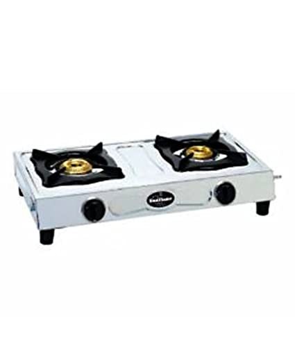 Sunflame Stainless Steel Gas Stove (2 Burner)