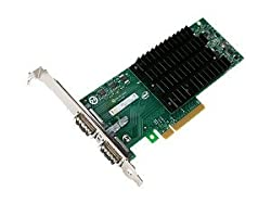 INTEL EXPX9502CX4 E37623-003, 10Gb CX4 Dual Port Server Adapter, 10GBASE-CX4, PCI