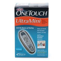 One Touch Ultra Mini Blood Glucose Monitoring System - Includes Meter, Access...