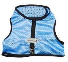 Cloak & Dawggie Cool Mesh Harness Vest - Blue - Tiny 2 (Cloak And Dawggie Harness Tiny 3 compare prices)