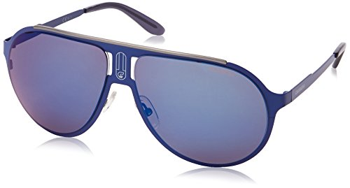 Carrera Champmts Wayfarer Sunglasses,Matte Blue,61 mm (Sunglasses Carrera Blue compare prices)