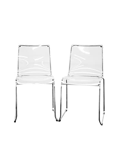 Baxton Studio Set of 2 Lino Dining Chairs