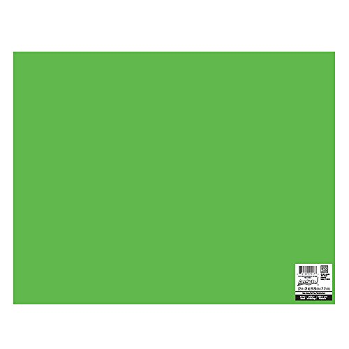 ArtSkills Poster Board, 22 x 28 Inches, Pack of 25, Neon Green (PA ...