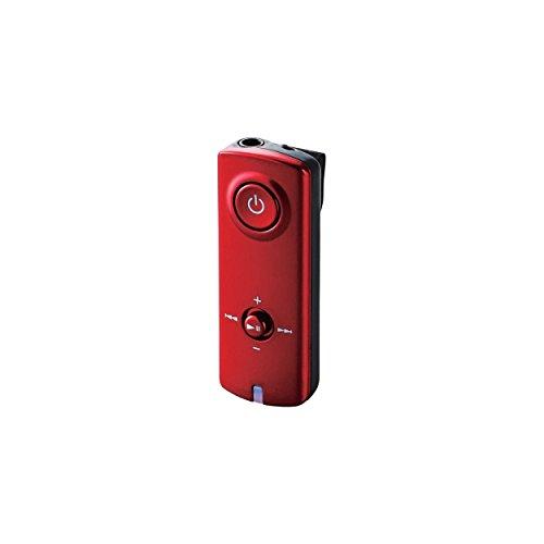 ELECOM エレコム iPhone6 iPhone6 Plus/Android/タブレット 対応 Bluetooth オーディオレシーバ ーNFC・AAC対応 レッド LBT-PAR150RD
