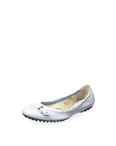 Tod's Women's Ballerina Flat with Buckle