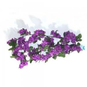 Amazon Purple Wisteria Garland Wedding Silk Flowers Computers Amp Accessories