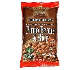 Louisiana Purchase Mix, Pinto Beans & Rice, 8 oz. (Pack of 12)