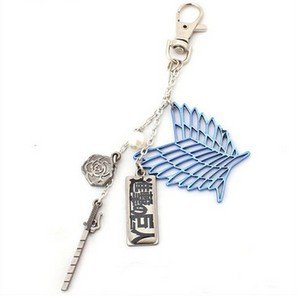 fate-gintama-tokyo-ghoul-one-piece-attack-on-titan-fairy-tail-sao-porte-cles-collier-pegase-mouche