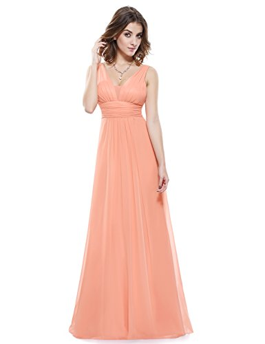 Ever-Pretty-Double-V-Neck-Ruched-Waist-Ladies-Long-Evening-Dress-08110