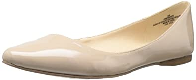 Nine West Women's Speakup Flat,Natural Synthetic,6 M US