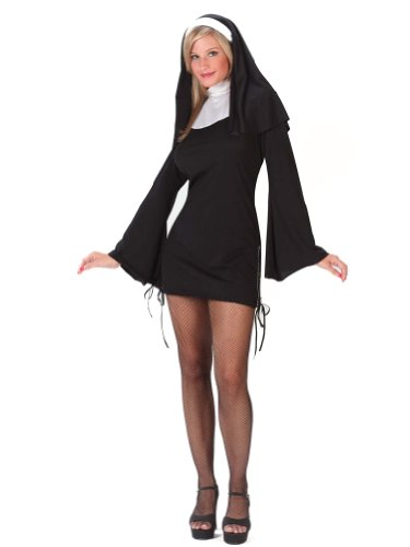 Sexy Nun Costume Religious Costume Catholic Nun Dress