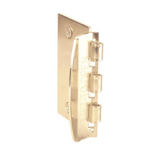 Door Flip Lock For Child Safety From Primeline - Brass / Gold Color front-548409