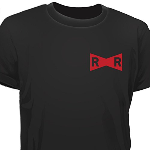 Creepyshirt-DRAGON-BALL-INSPIRED-RED-RIBBON-SMALL-T-SHIRT-M