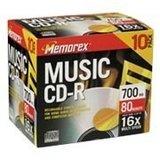 Memorex Music 700MB 32X CD-R (10pk)