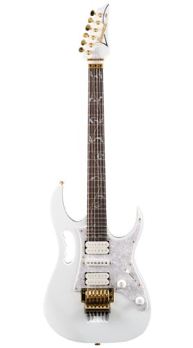 IBANEZ SIGNATURE SERIES STEVE VAI JEM7VWH WHITE WITH CASE