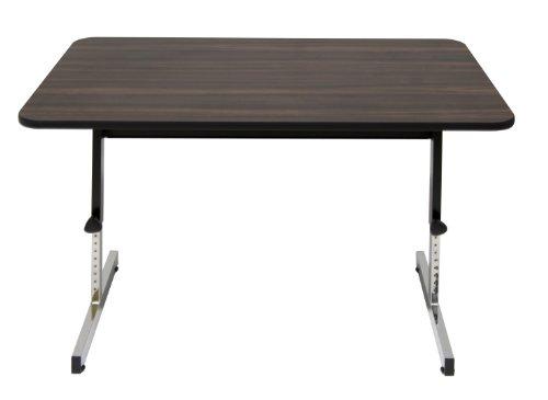 "Studio Designs Adapta Desk 48"" Desk In Black / Walnut 410380"