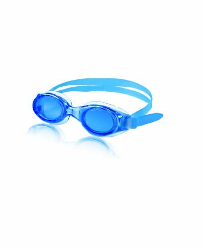 Speedo Junior Hydrospex Swim Goggle, Blue/Blue
