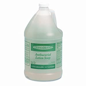 Amazon.com: Antibacterial Liquid Soap, Unscented Liquid, 1gal Bottle ...