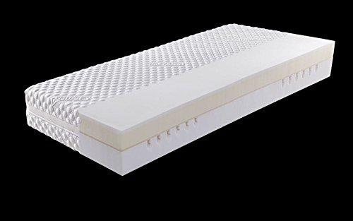 Dermapur Matratze Premium 22 Bezug Purotex unversteppt, 090/190/22 cm, Schulterzone, Härtegrad normal