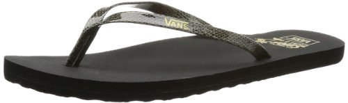 Vans Women's W MALTA (SNAKE) BLACK Thong Sandals