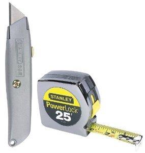 Tape 1X25 W/Utl Knife St (Pkg Of 3)