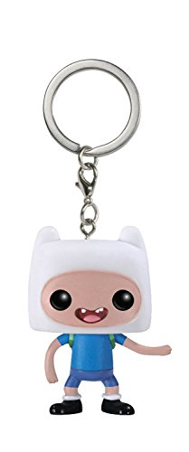 Funko - Porte Clé Adventure Time - Finn Pocket Pop 4cm - 0849803048655