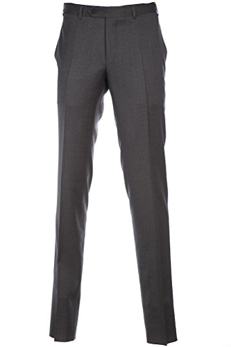 canali-trouser-basic-flannel-in-grey-34w