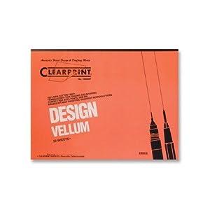CLE10001416 - ClearPrint Plain Vellum Pads