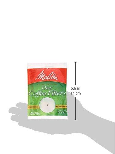 Melitta Basket Coffee Filter, 3.5″, 100 ct