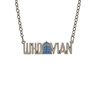 doctor who whovian necklace chain necklaces