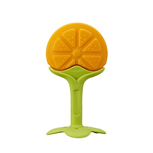 Innobaby Teethin' Smart Ez Grip Massaging Teether, Citrus - 1