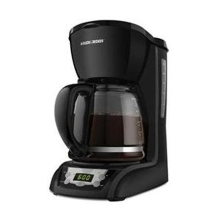 Applica DLX1050B 12-Cup Programmable Coffeemaker - Black