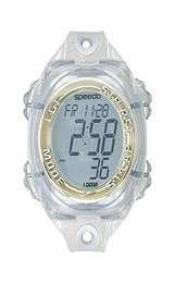 Speedo Women's 50 Lap Silicone Strap Watches #SD50552BX