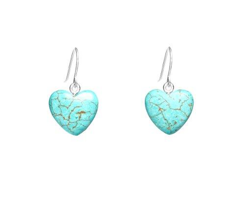 Lola Rose 'Daniella' Natural Blue Magnesite Earrings