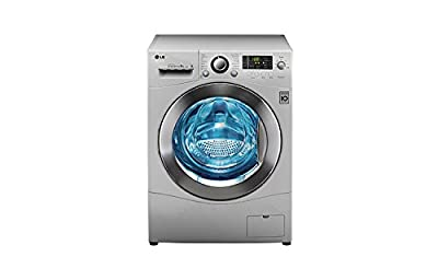 LG F1280WDP25 Front-loading Washing Machine (6.5 Kg, Luxury Silver)