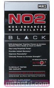 NO2 Black-MRI NOS Enhanced Hemodilator, 180 Caplets